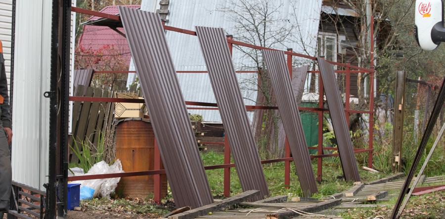 Купить забор на дачу в Москве