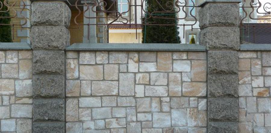 Купить забор из камня