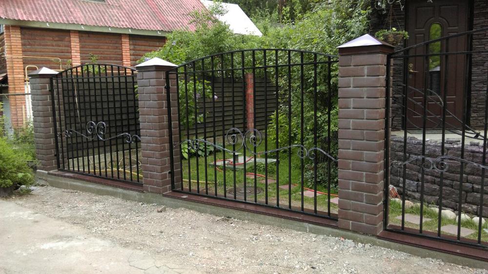 Купить металлический забор в украине купить ворота цена