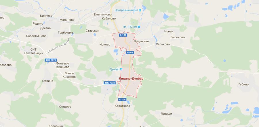 Заборы в Ликино-Дулево