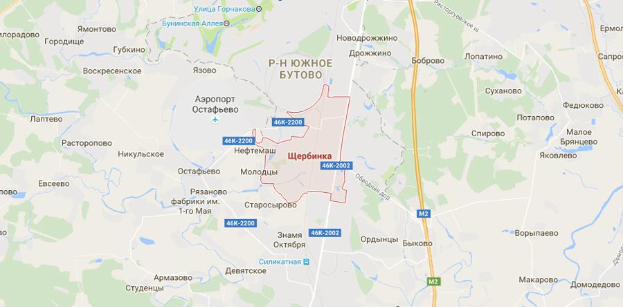 Заборы в Щербинке