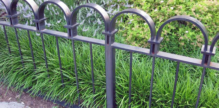 Декоративные газонные ограждения