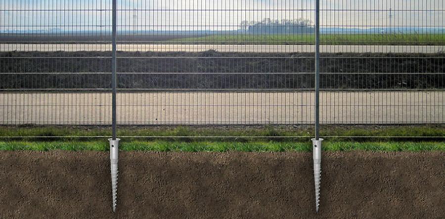 Винтовой забор