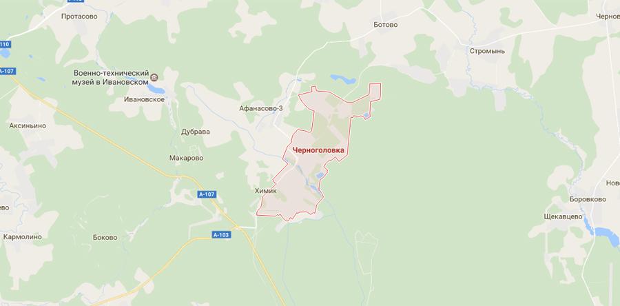 Заборы в Черноголовке